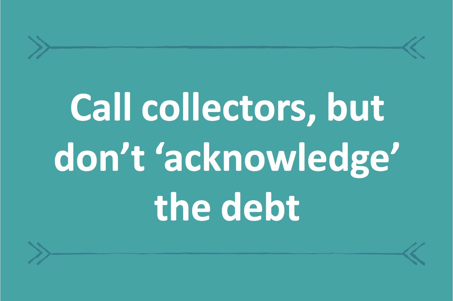 Debt Collectors Will Negotiate