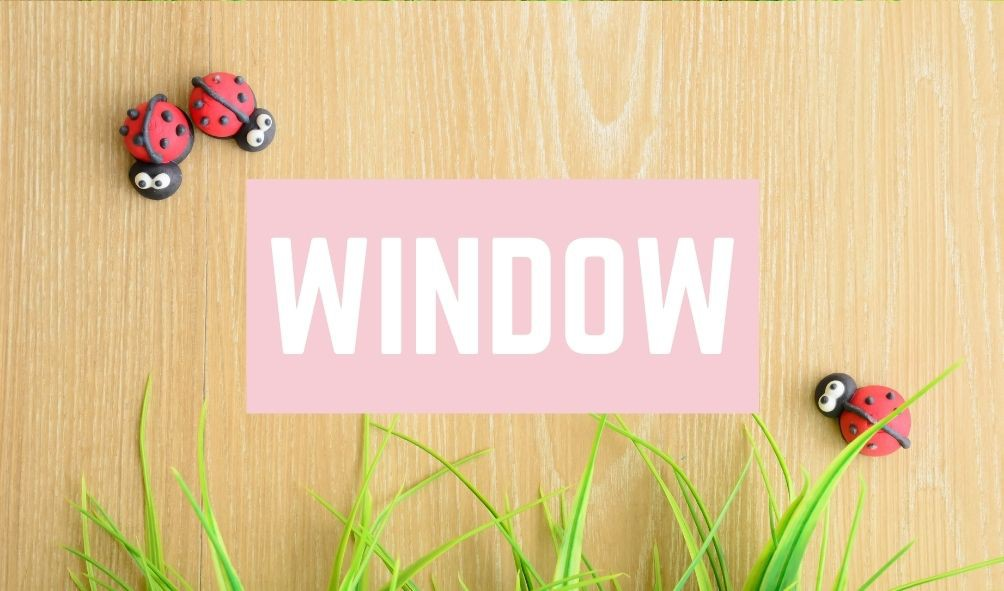 Awful Baby Names: Window