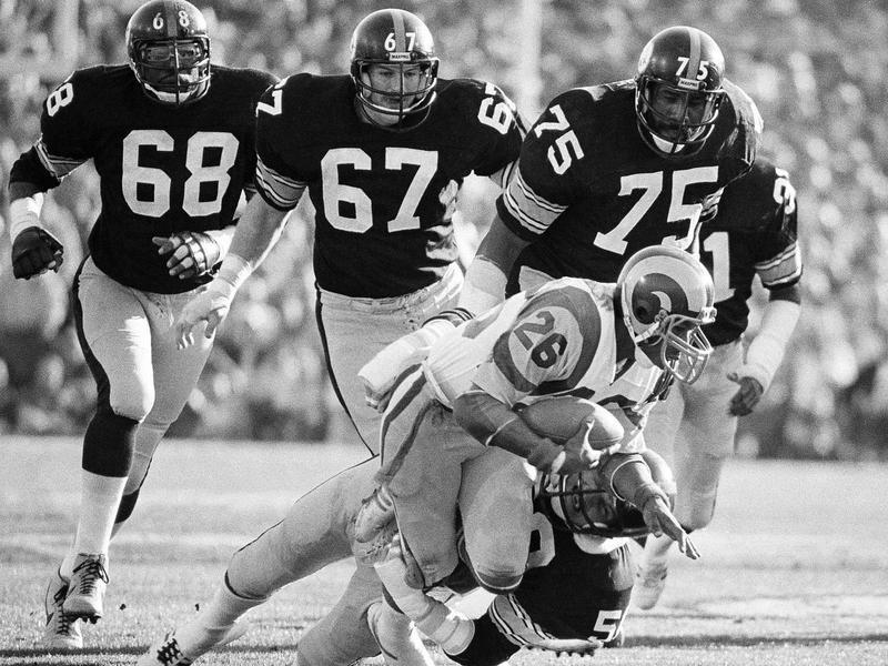 1979 Pittsburgh Steelers Jack Lambert, L.C. Greenwood, Gary Dunn, Joe Greene