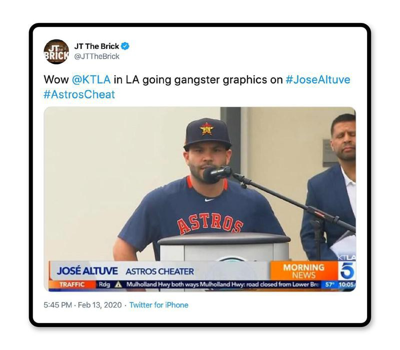 'Astros cheater'