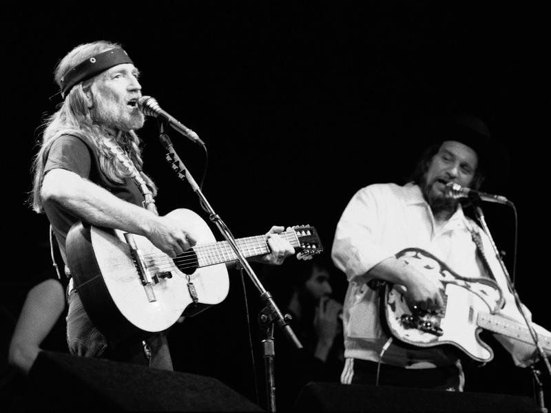 Waylon Jennings and Willie Nelson