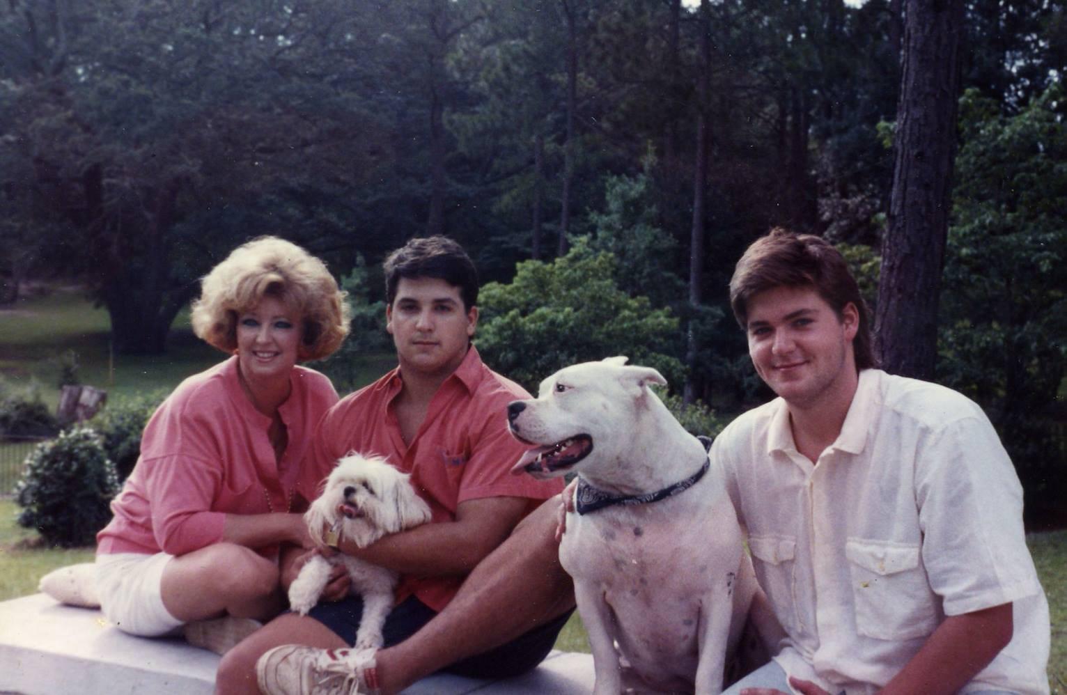 Paula Deen and sons