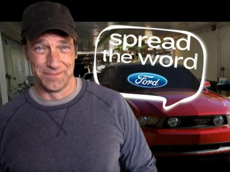 mike rowe ford