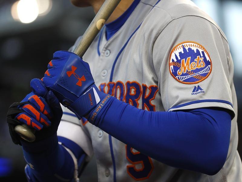 Mets Logo on Jersey