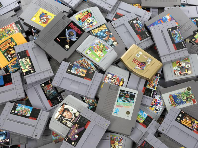 Blowing Into Video Game Cartridges