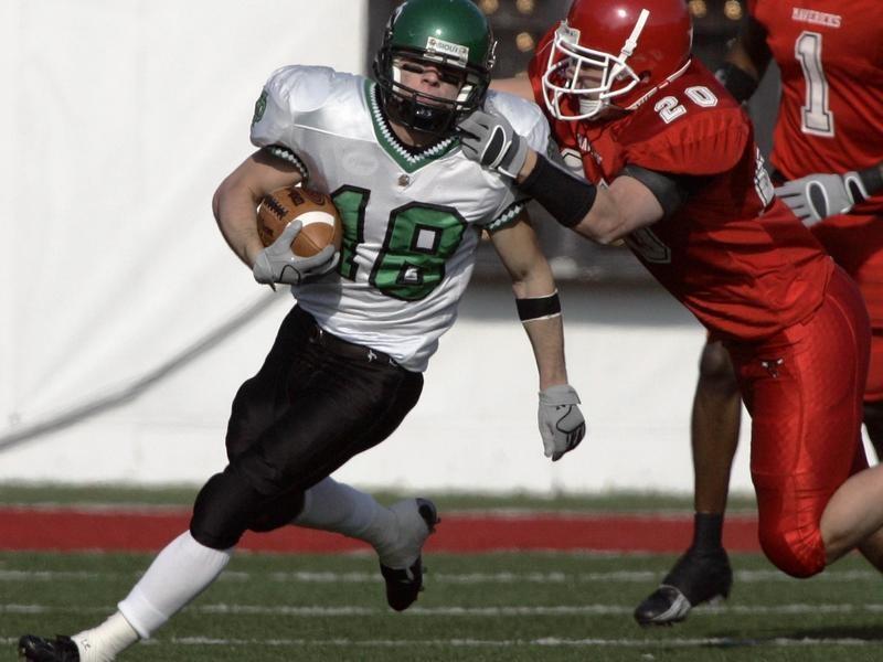 Wide receiver Weston Dressler