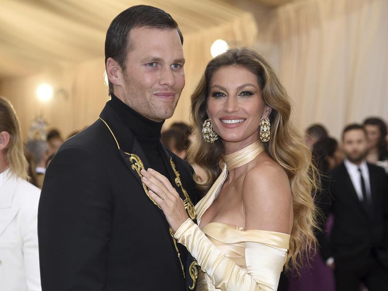 Tom Brady and Gisele Bundchen
