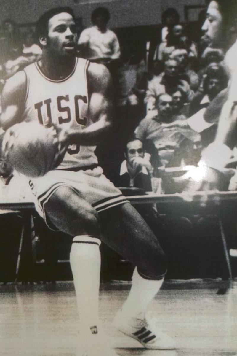 Ronnie Lott at USC
