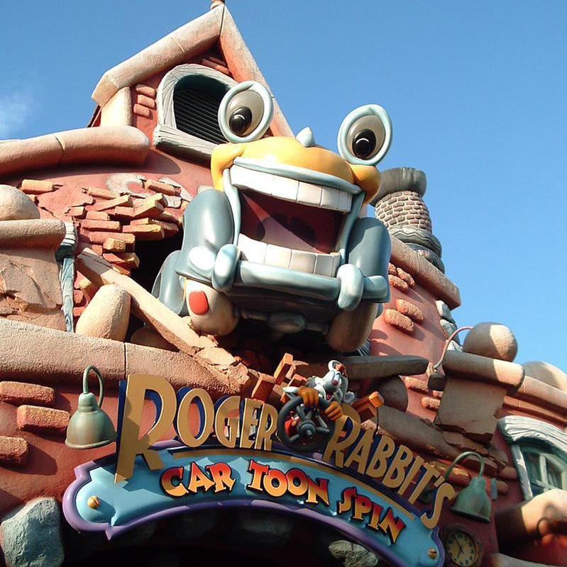 Roger Rabbit Car Toon Spin