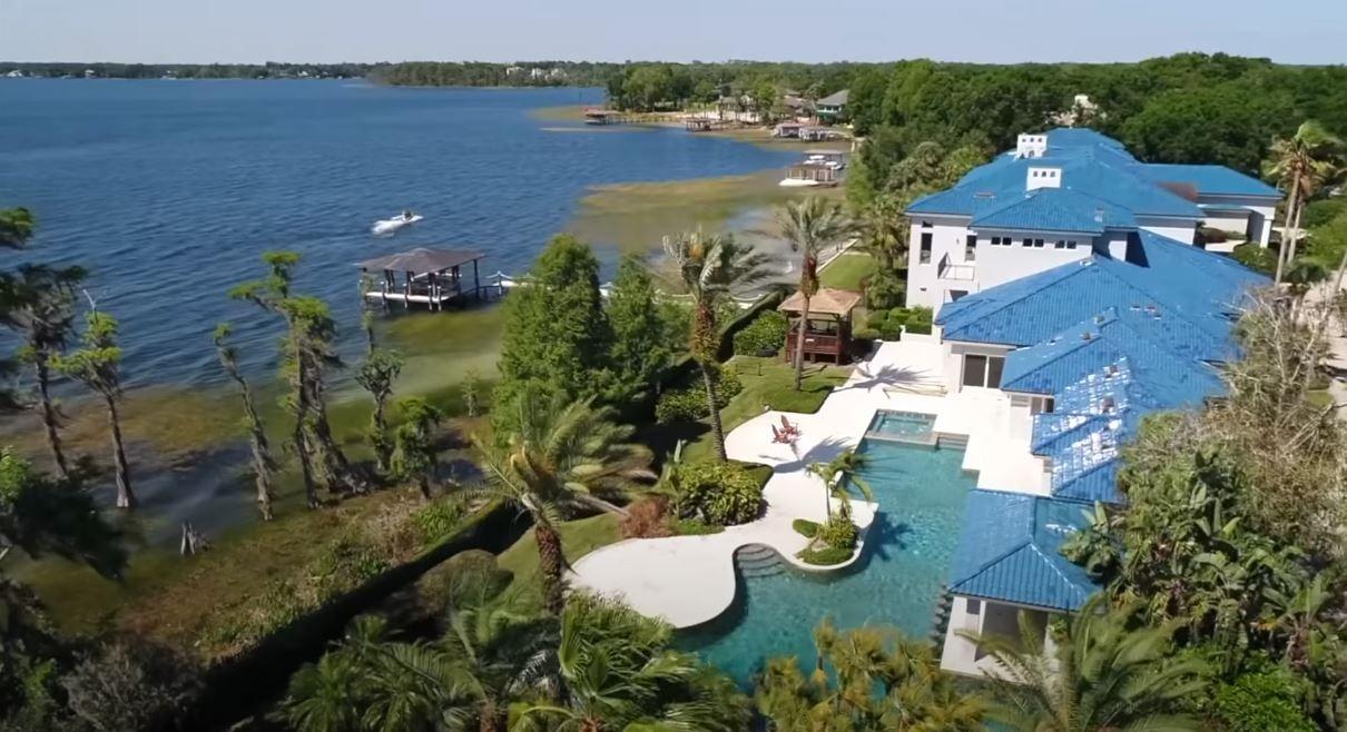Shaq's mansion in Windermere, Florida