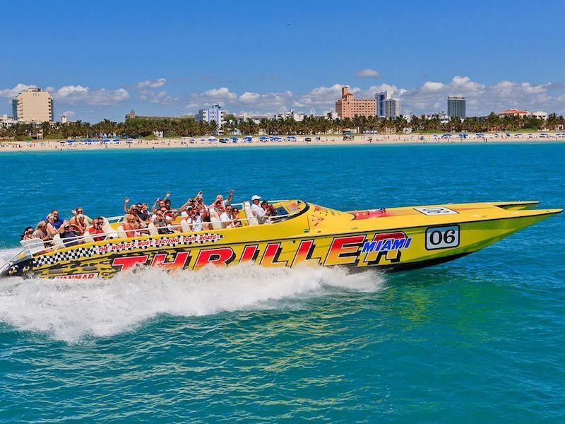 Thriller Miami Speedboat Adventures