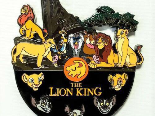 Lion King Record Breaker Prototype pin