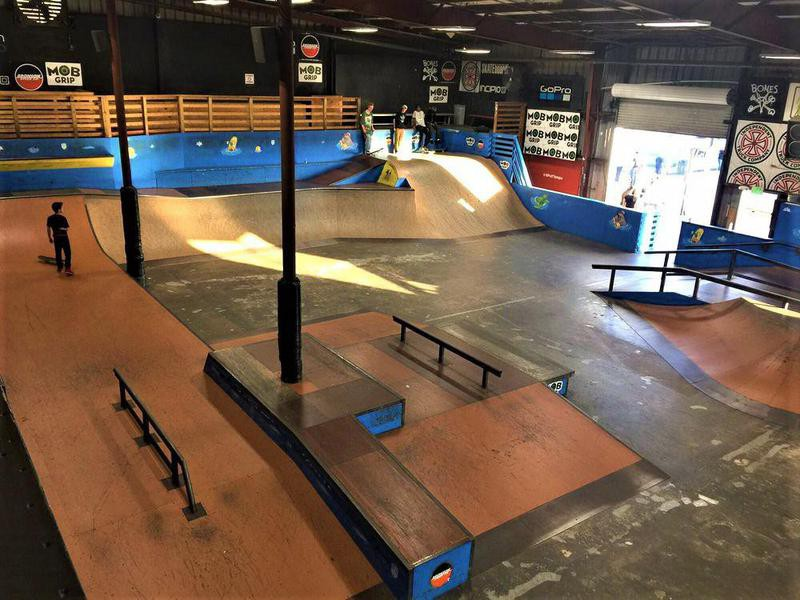 SPoT Skatepark near Tampa, Florida