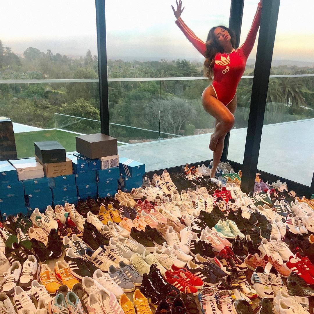 Beyonce's shoe collection