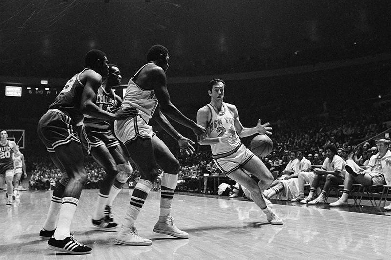 Bill Bradley and Willis Reed