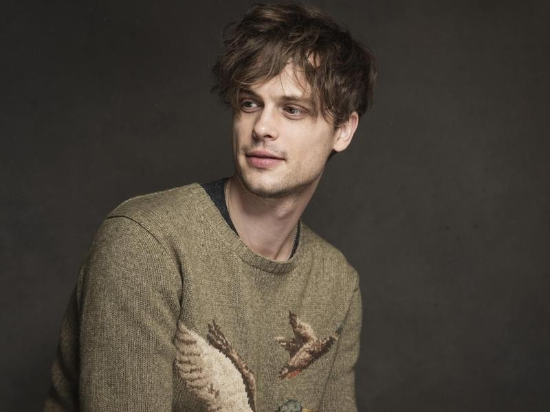 Matthew Gray Gubler at the Sundance Film Festival