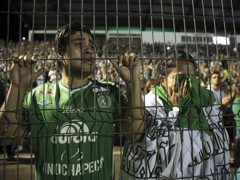 Mourning Chapecoense Fans