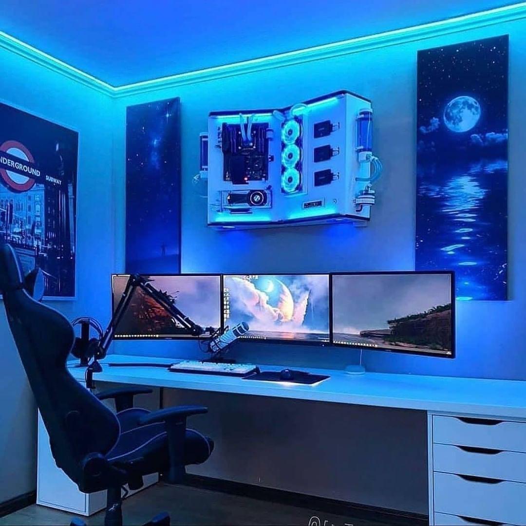 Remote work station