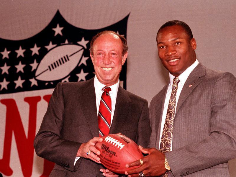 Bo Jackson and Pete Rozelle