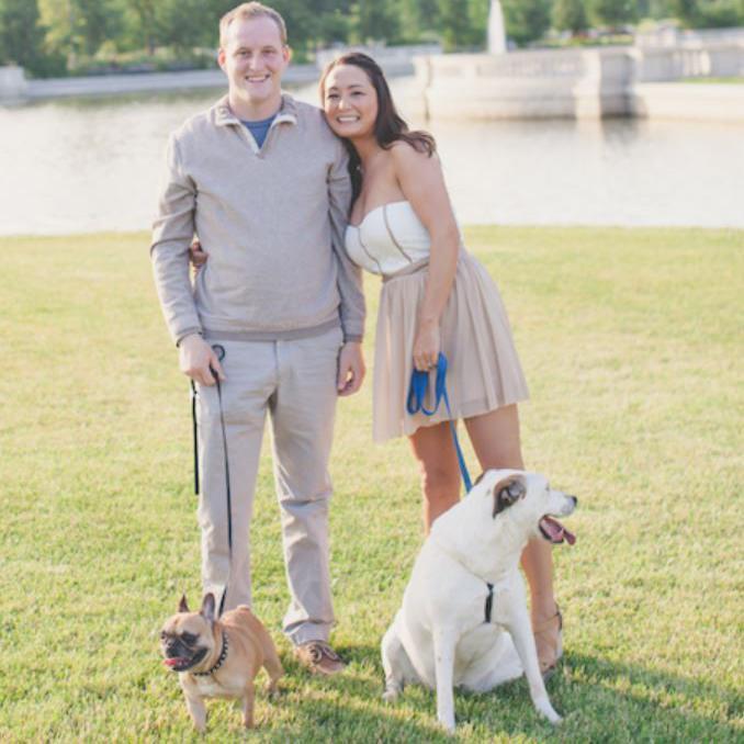 Michelle Schroeder-Gardner and her family