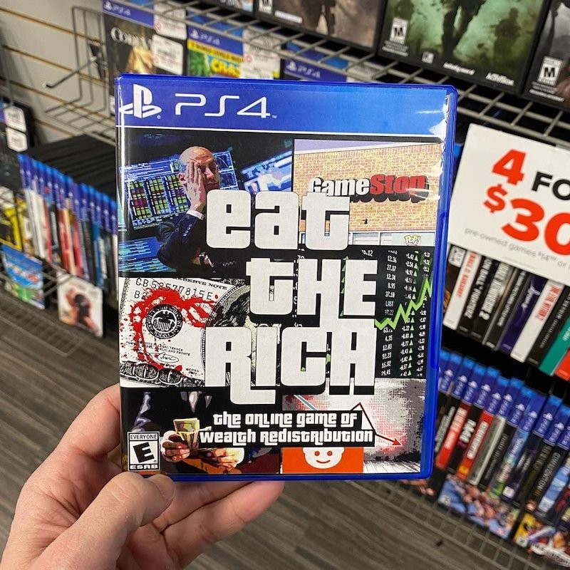 Eat the Rich video game