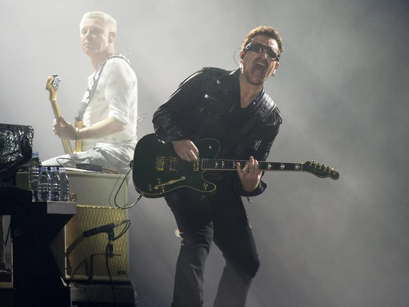 Bono, Adam Clayton