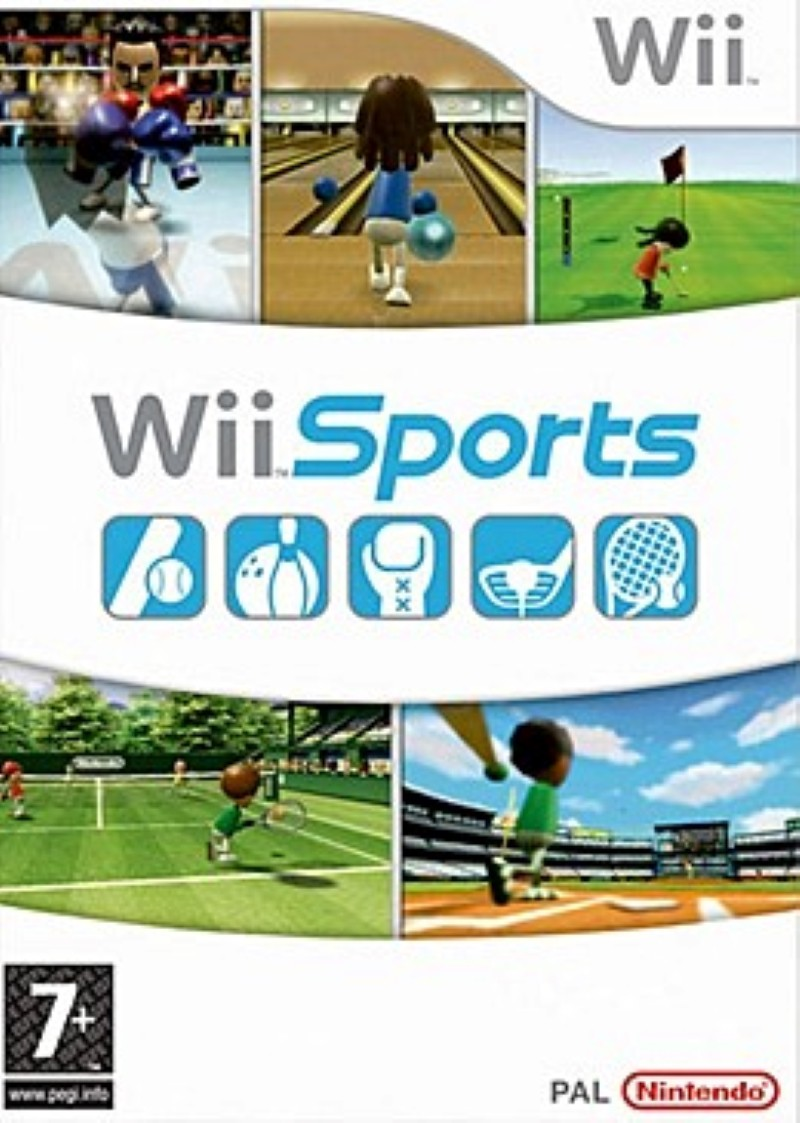Wii Sports cover art
