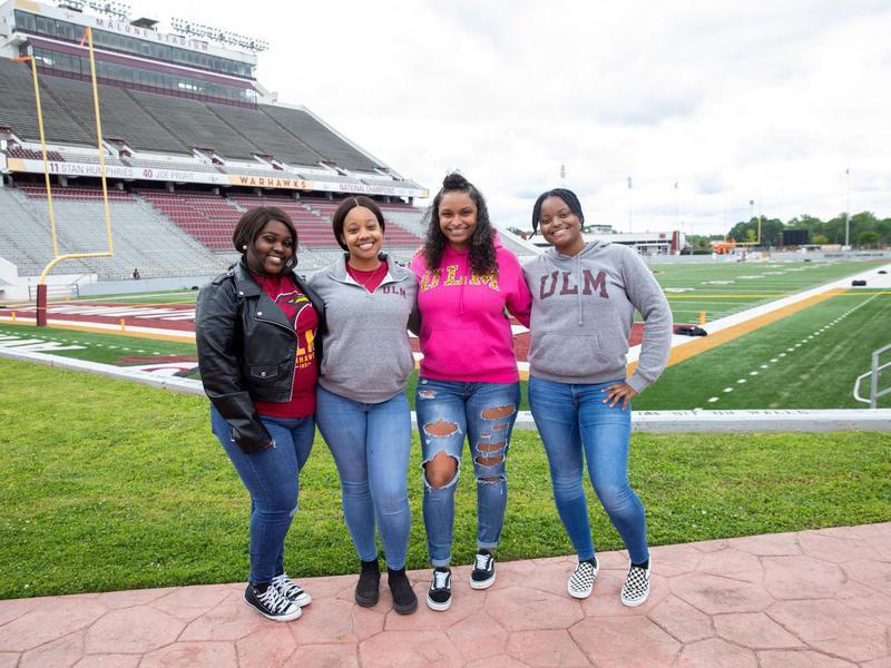 Students at University of Louisiana Monroe