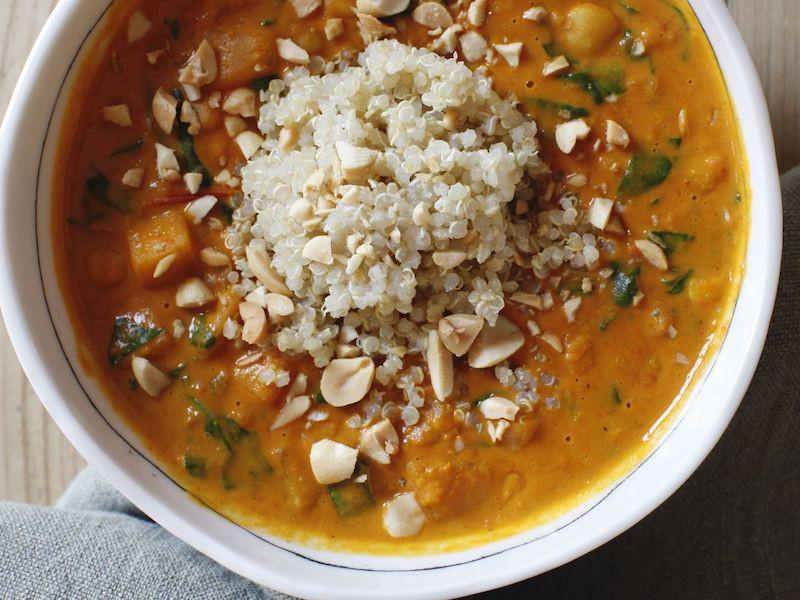 Peanut and Squash Stew