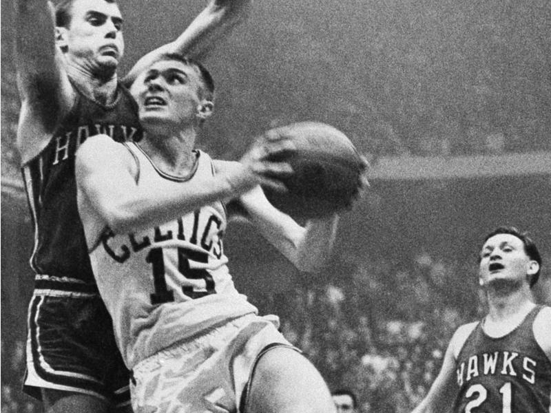 Boston Celtics forward Tommy Heinsohn