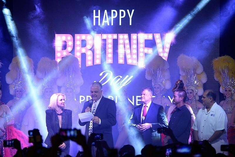 Britney Day in Las Vegas
