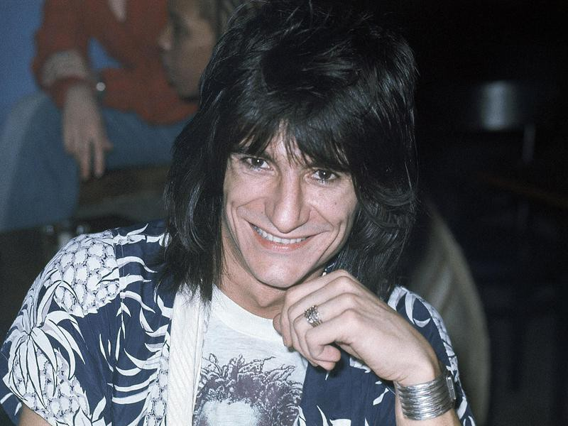 Ronnie Wood in 1977