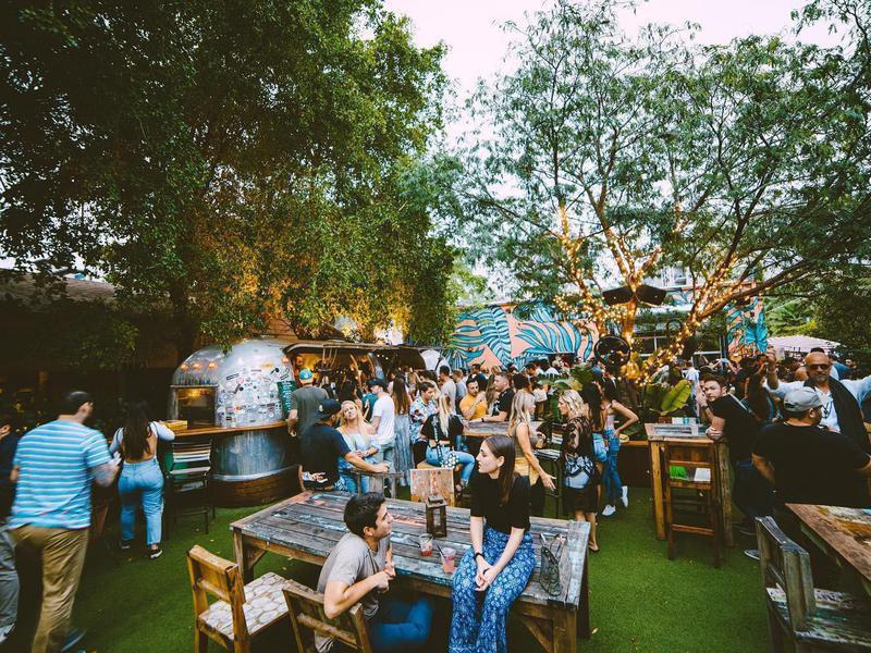 Rhythm & Vine Beer Garden