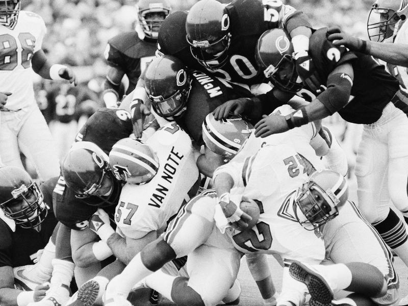 Dave Duerson and Bears defenders