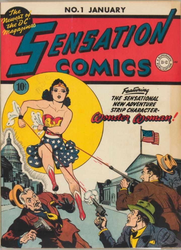 Sensation Comics No. 1