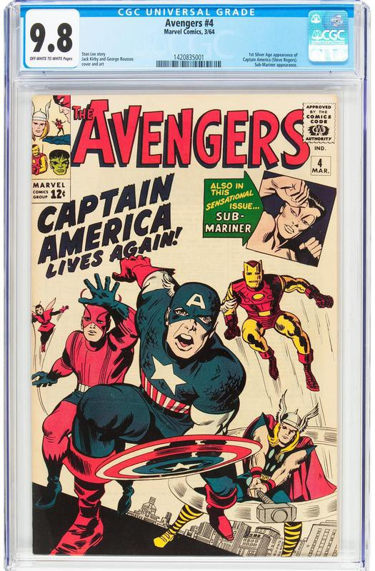 The Avengers No. 4