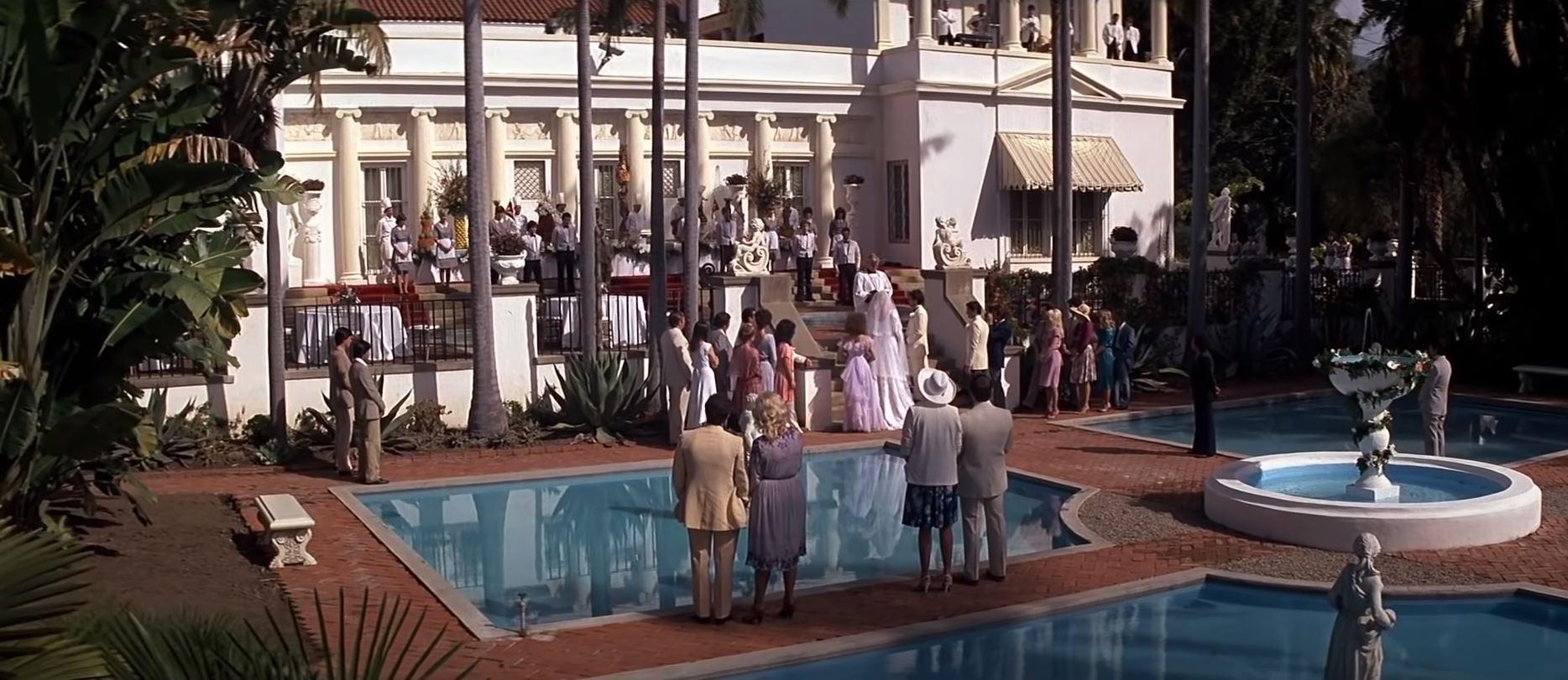 Scarface wedding