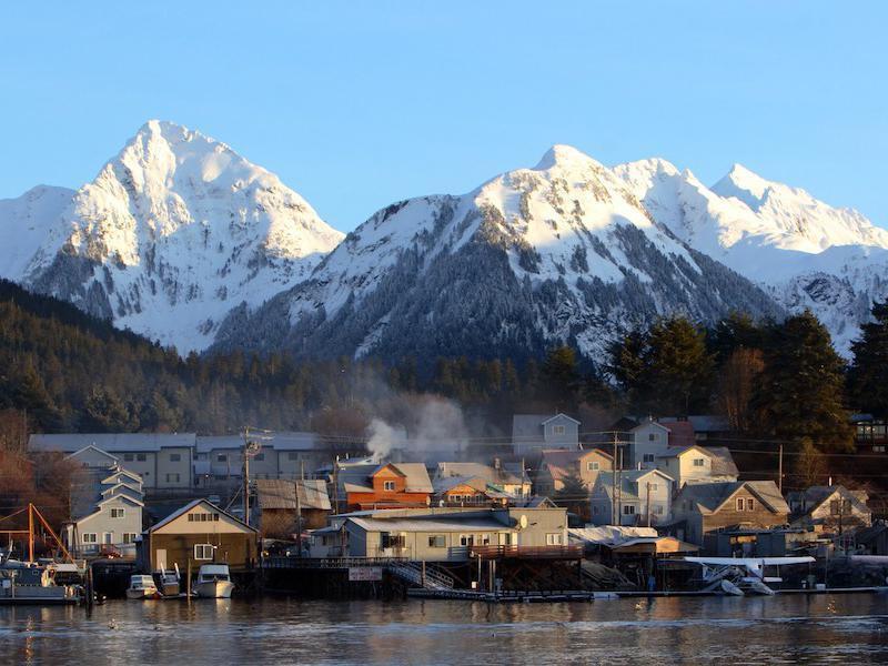 Small Town in Alaska: Sitka