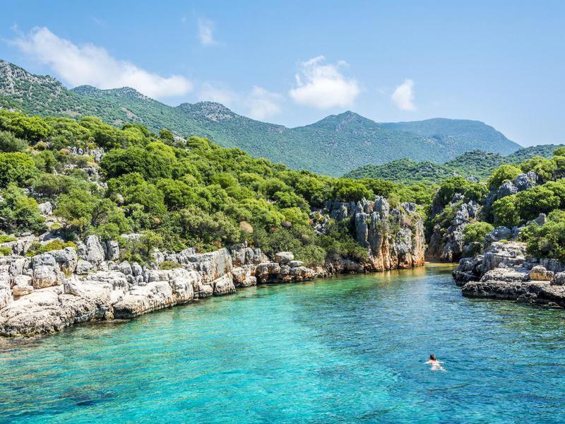 Kas, on the Mediterranean coast of Turkey
