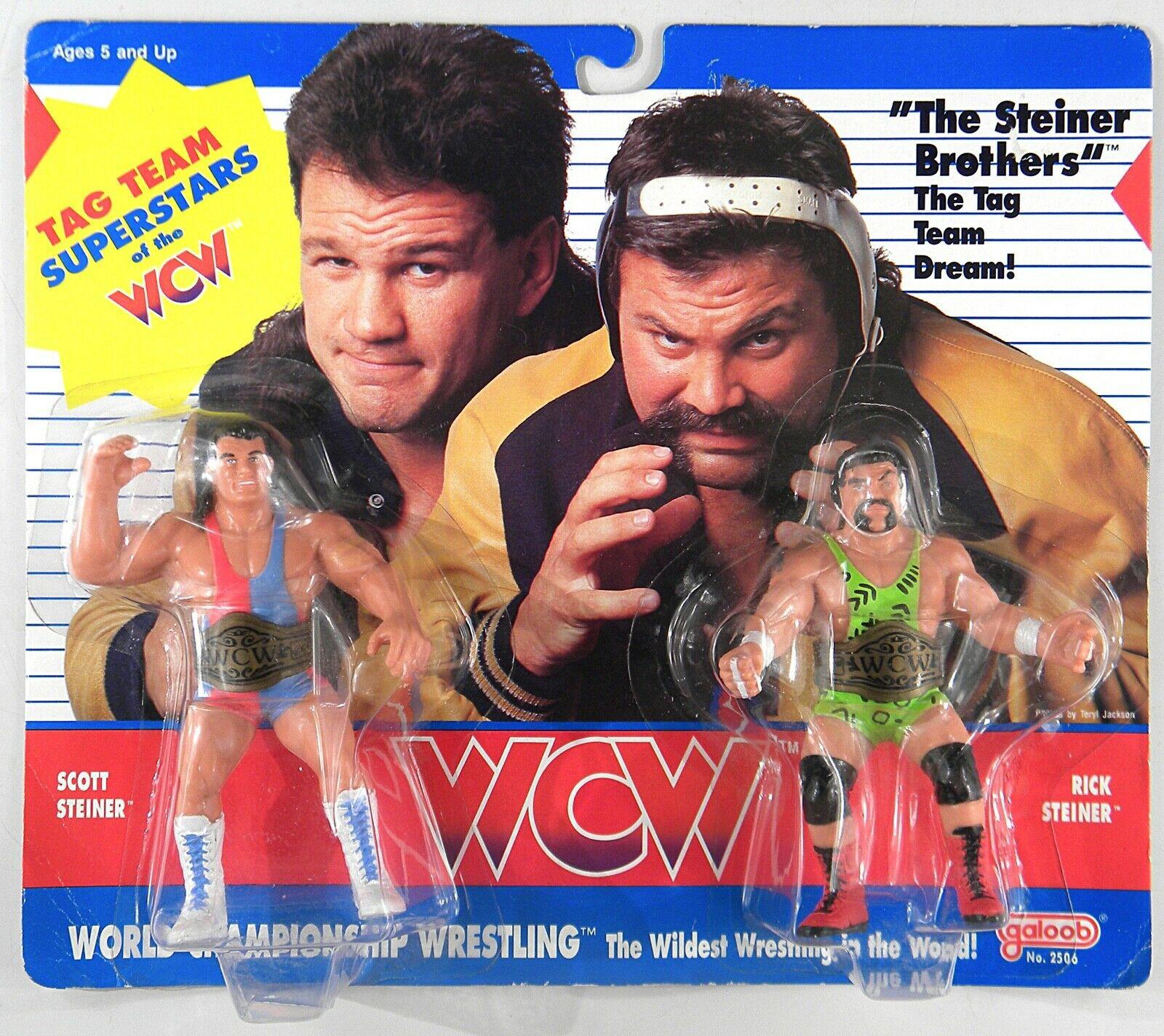 Lot de 2 Tag Team Championship ceintures pour WWE Wrestling Action Figures