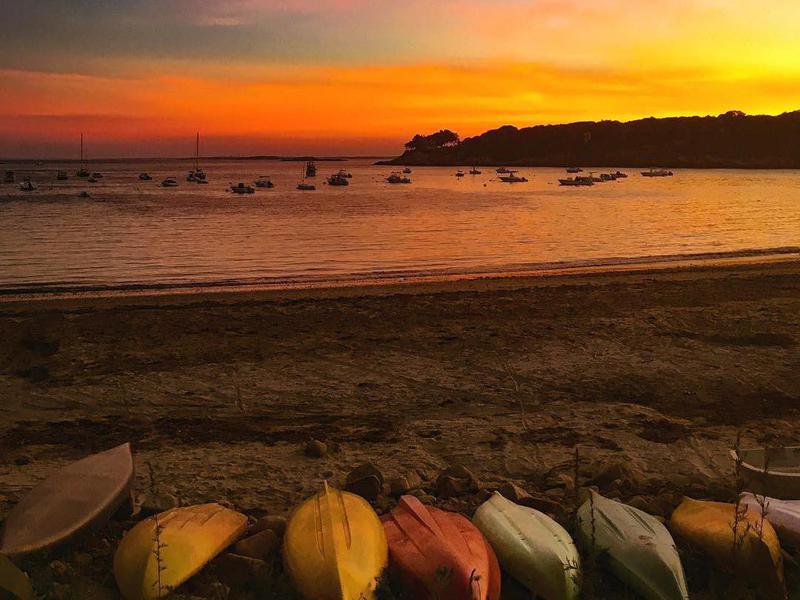 Sunset at Magnolia Lane Beach