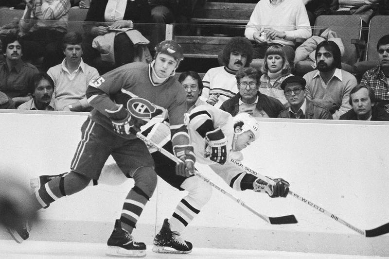 Montreal Canadiens center Doug Wickenheiser