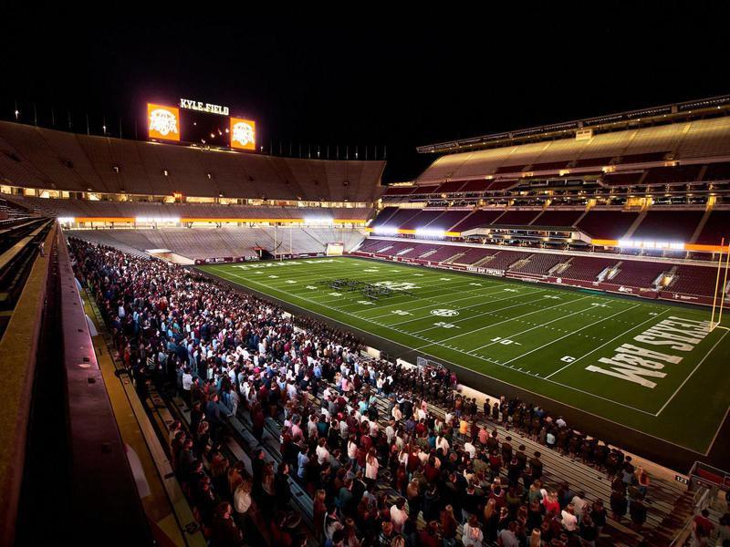 Texas A&M University stadium