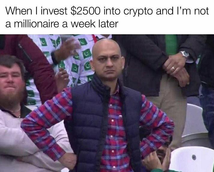 Impatient crypto investor