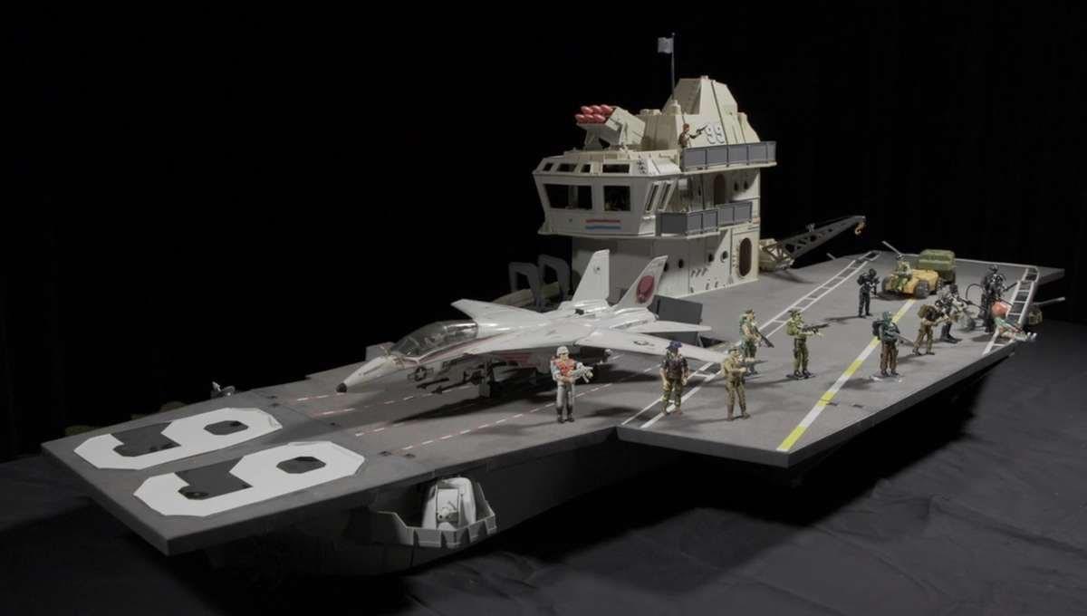 USS Flagg Aircraft Carrier G.I. Joe