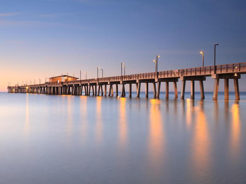 Pier at Gulf Shores, Alabama