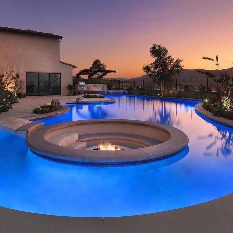 Backyard Firepit Pool