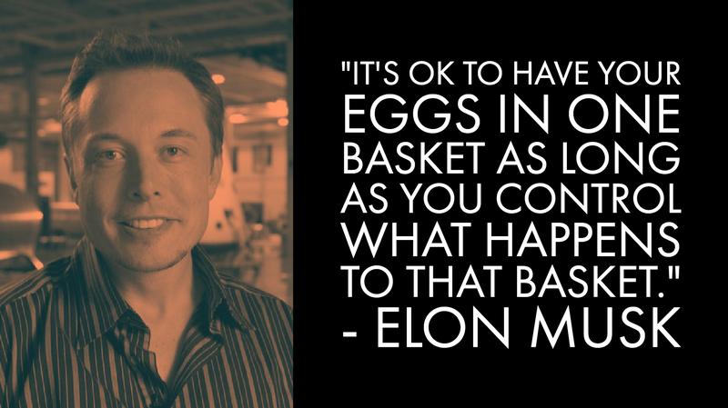 Elon Musk Money Advice