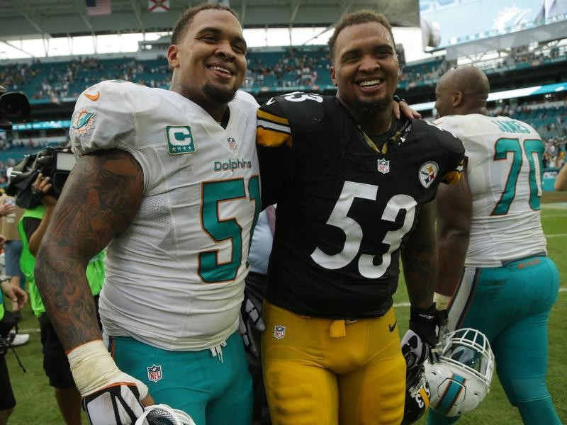 Lakeland High offensive lineman Mike Pouncey and Maurkice Pouncey