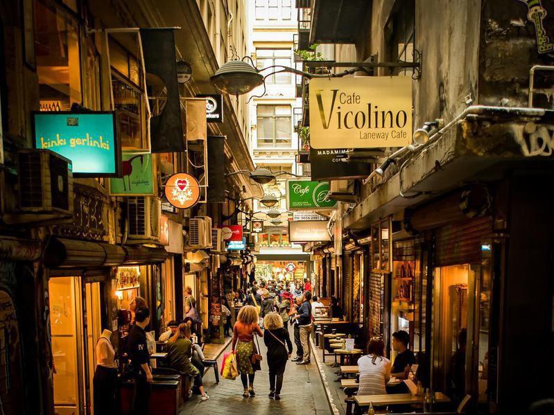 Centre Place laneway in Melbourne, Australia
